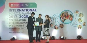International School Award ( British Council ) 2017- 2018